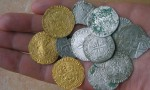 boursee monnaie trouvée avec un teknetics t2