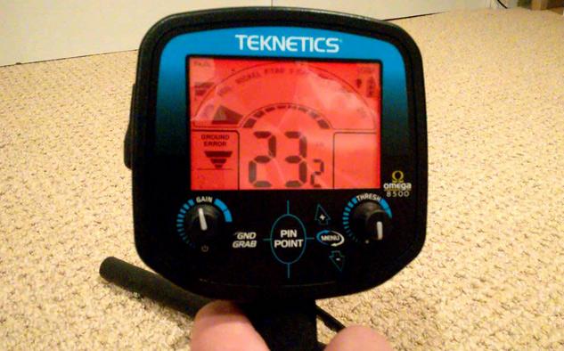 detecteur de métaux teknetics omega 8500