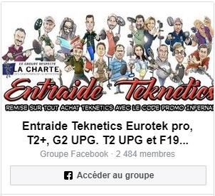 Le plus grand groupe Teknetics sur Facebook